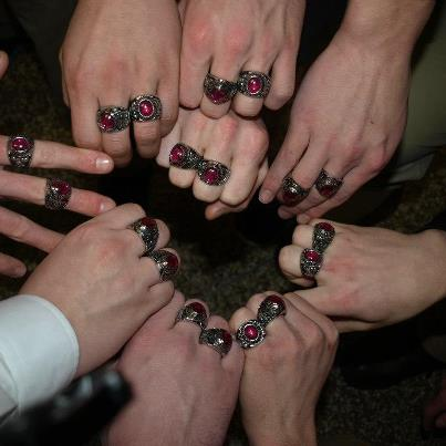 2012 Undefeated Rings
